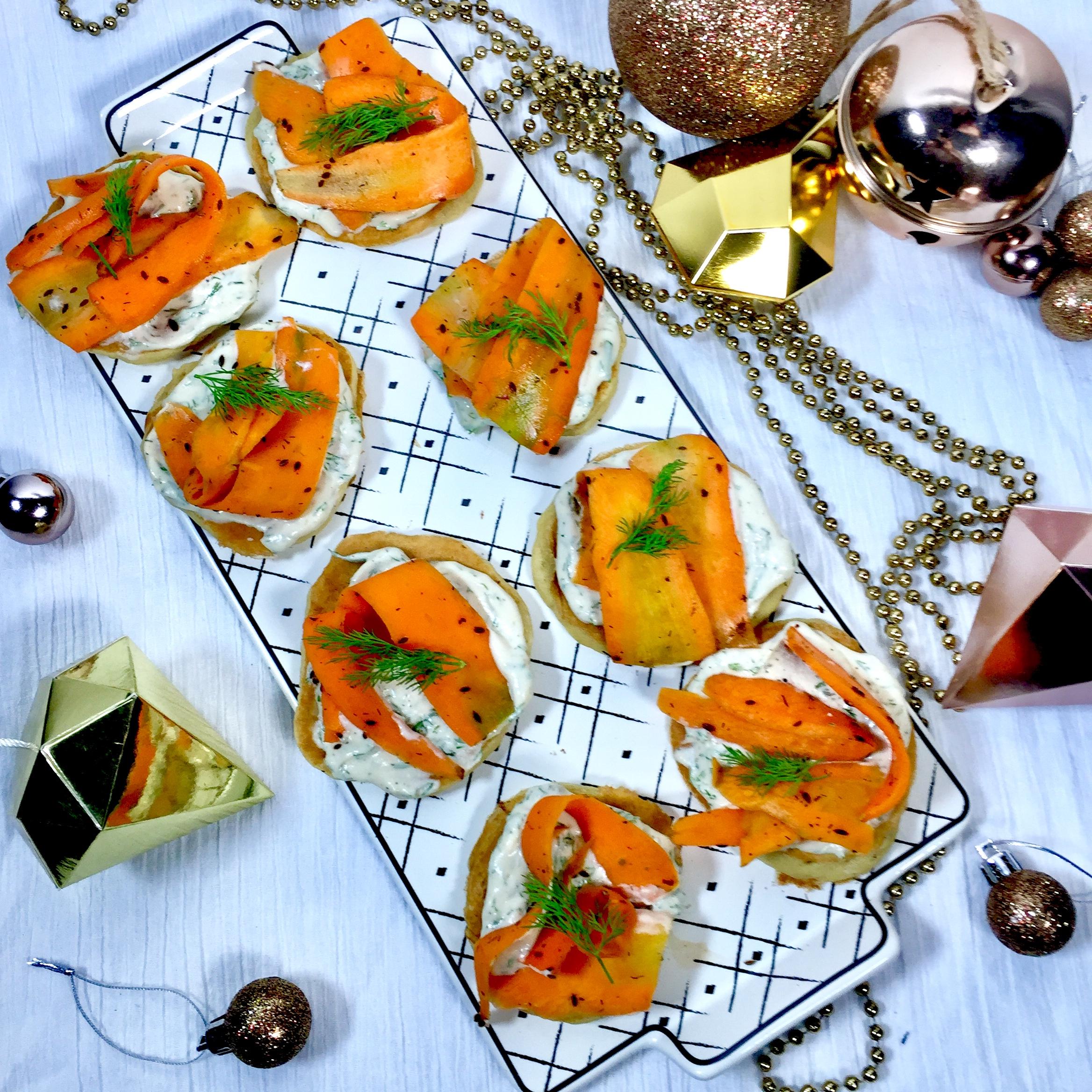 Gravlax de carotte