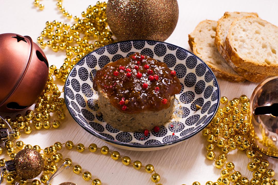 foie gras vegan champignon